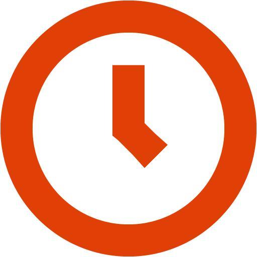 Soylent Red Clock Icon