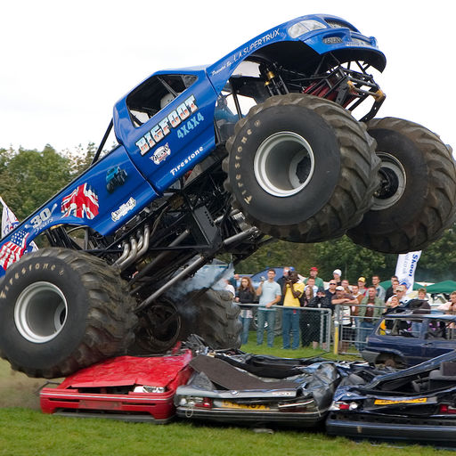 Home Lock Screen Wallpapers For Monster Truck