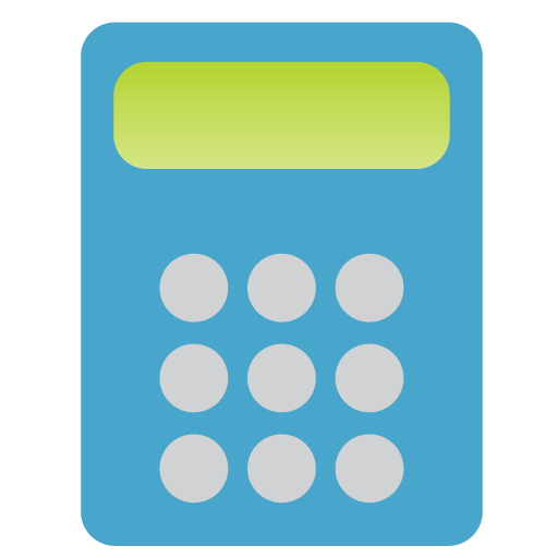 Accounting Calculator Icon Service Categories Iconset