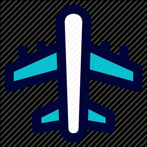 Air Plane, Flight, Logistic, Plane, Shipping Icon