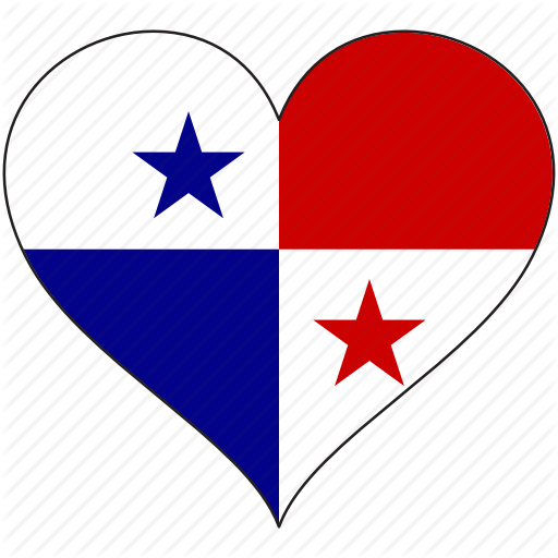 Flag, Heart, National, North America, Panama Icon