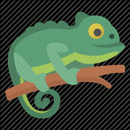 Amphibian, Chameleon, Change, Color, Lizard, Reptile, Zoo Icon