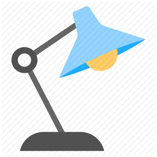 Arc Light, Desk L Desk Light, Study Light, Table Lamp Icon