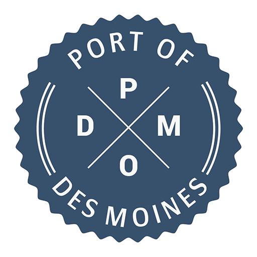 Port Of Des Moines Where Court Avenue Meets The River