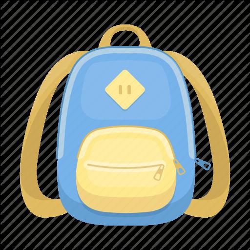 Backpack, Bag, Briefcase, Satchel, Schoolbag Icon