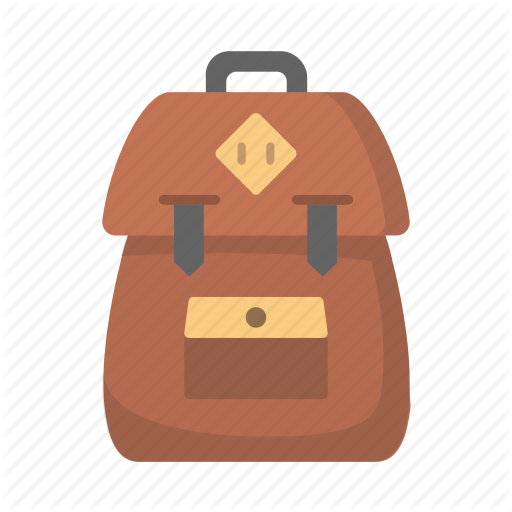 Backpack, Learn, School, Travel Icon