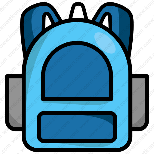 Download Backpack,backpack,rucksack,schoolbag Icon Inventicons