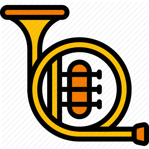 Band, Brass, French, Horn, Instruments, Music Icon