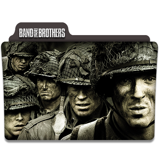 Band Of Brothers Tv Series Folder Icon