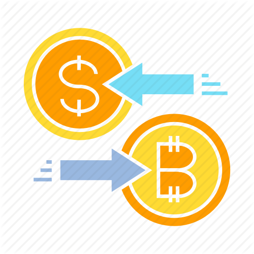 Barter, Bitcoin, Currency Exchange, Money Exchange, Swap Icon