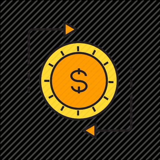 Barter, Coin, Exchange, Finance, Money, Money Exchange, Swap Icon