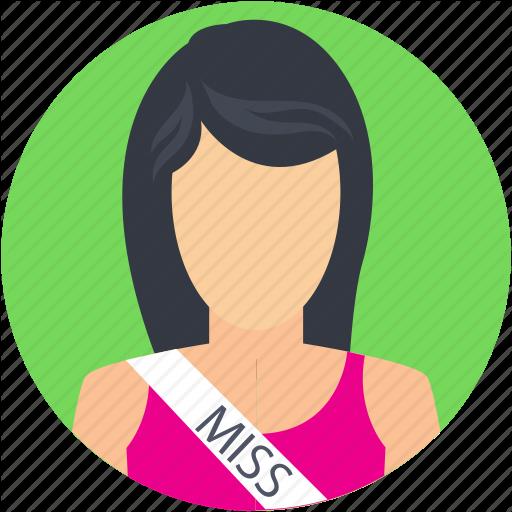 Beauty Queen, Miss, Miss Beauty, Miss Queen, Woman Icon