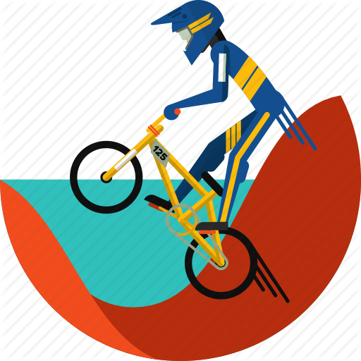 Bike, Bmx, Cycle, Cycling, Cycling Bmx, Cycling Gear, Sports Icon Icon