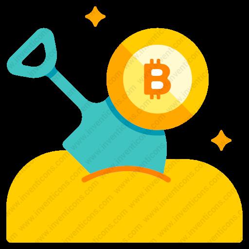 Download Bitcoin,mining Icon Inventicons