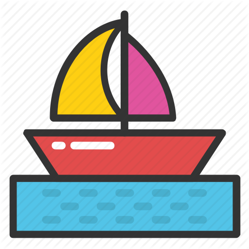 Boat, Sailboat, Sailing Boat, Vessel, Yacht Icon