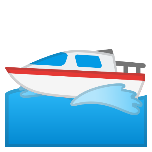 Motor, Boat Icon Free Of Noto Emoji Travel Places Icons