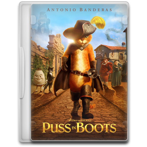 Puss In Boots Icon Movie Mega Pack Iconset
