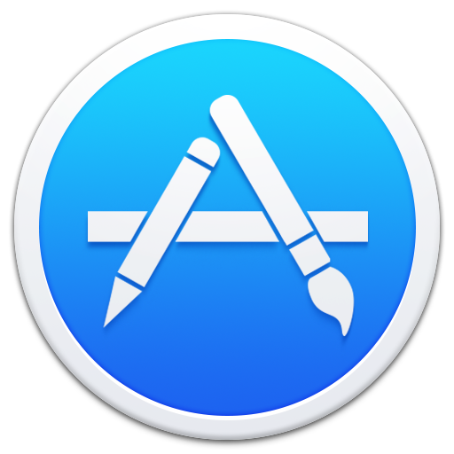 Apple Appstore Border Icon Smooth App Iconset Ampeross