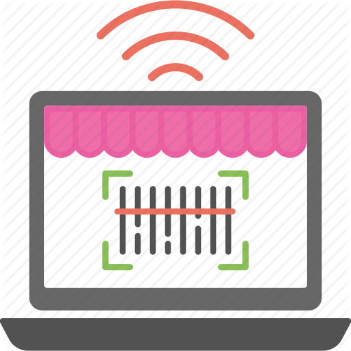 Barcode, Code Reader, Online Code, Tracking Code, Web Code Icon