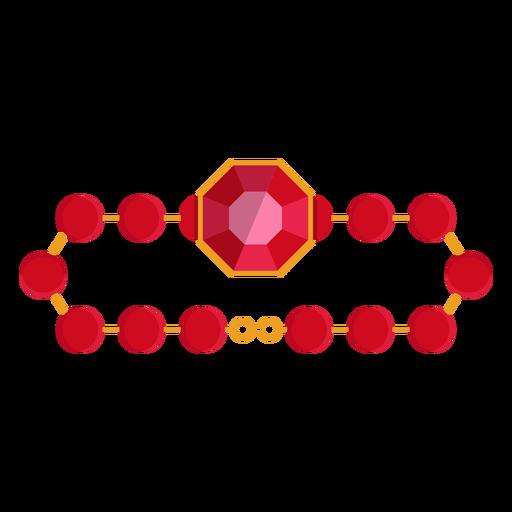 Red Bead Bracelet Icon