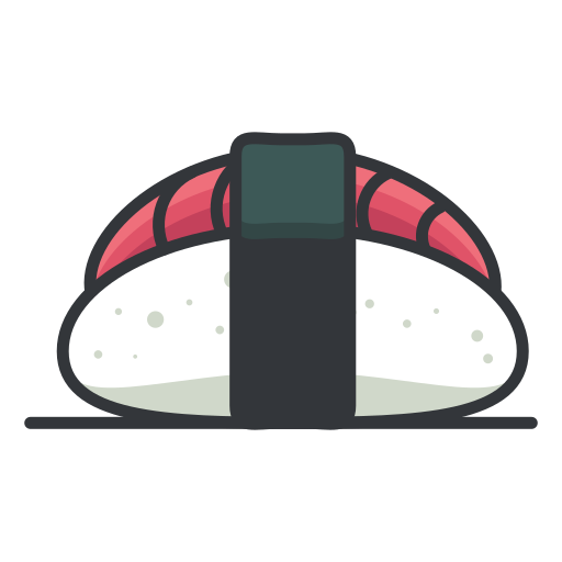 Sushi, Food Icon Free Of Free Filled Outline