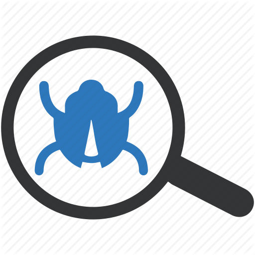 Bug, Bug Search, Bug Tracking, Find Bug Icon