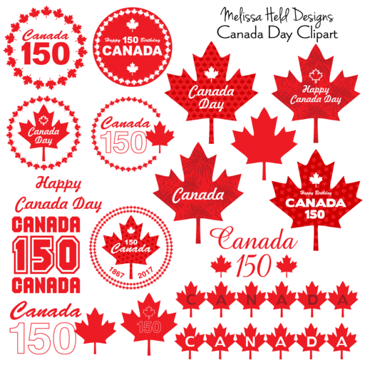 Canada Day Themes Tagged Icon Mygrafico