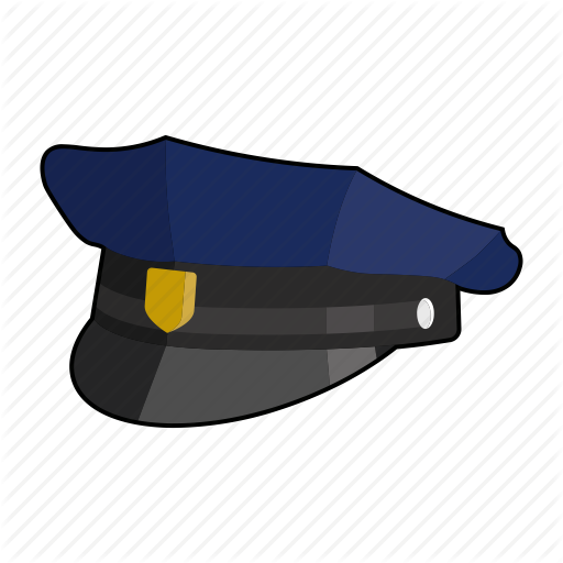 Cap, Clothing, Hat, Head Wear, Police Cap, Uniform Icon