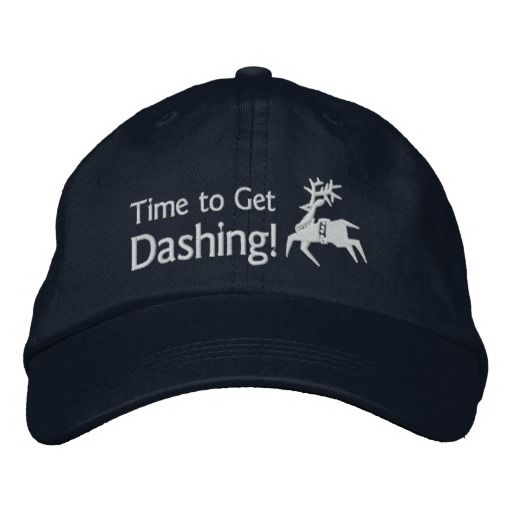 Runner's Time To Get Dashing Reindeer Icon Emoji Embroidered