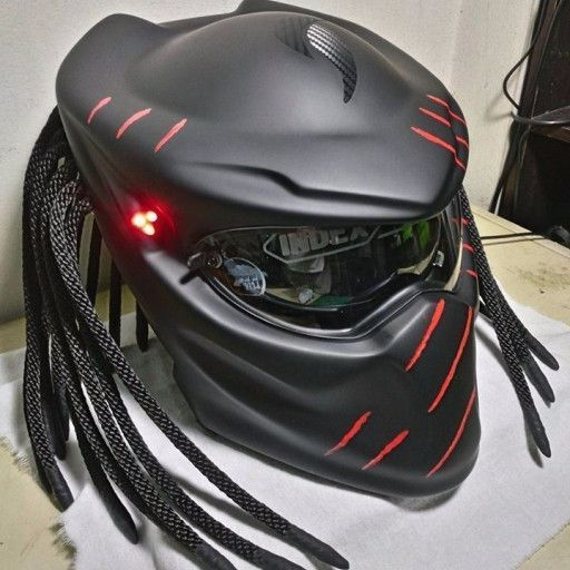 Condition New This Is Modified Helmet Motorcycle Not For Cosplay