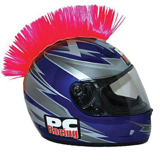 Pc Racing Helmet Mohawk Pink Pchmpink Ebay