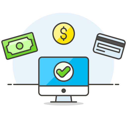 Monitor Cash Credit Card Icon Streamline Ux Free Iconset