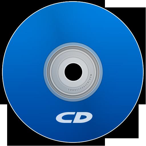 Cd Blue Icon