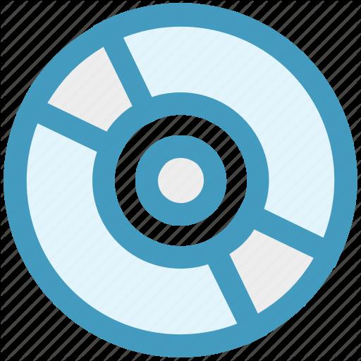 Cd, Cd Disk, Data, Disc, Disk, Music Icon
