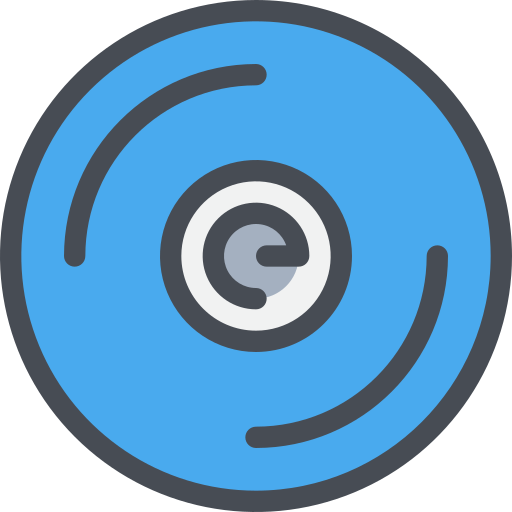 Cd Icon Free Of Free Color Mix