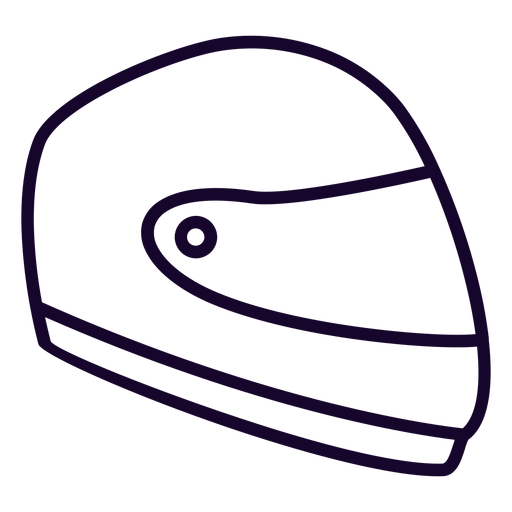 Motorcycle Helmet Flat Icon Motorcycle Icon