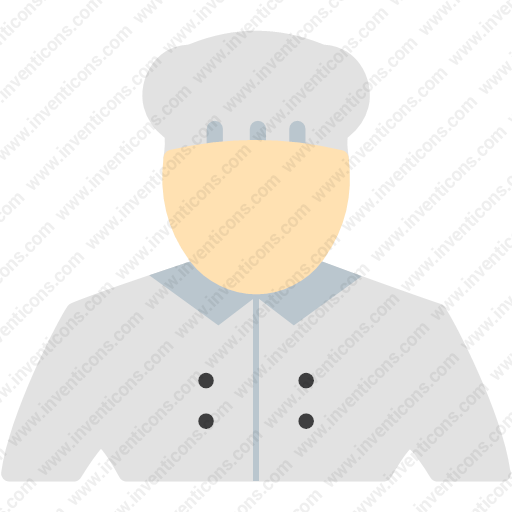 Download Chef,cooking,food,gastronomy Icon Inventicons