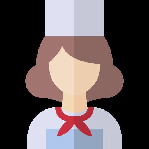 Occupation, Profession, Avatar, Job, Chef, Woman, People Icon