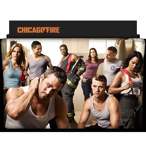 Chicago Fire Tv Series Folder Icon