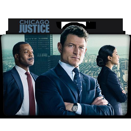 Chicago Justice Tv Series Folder Icon