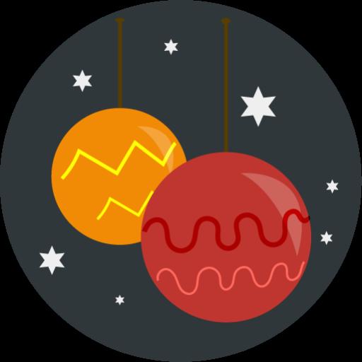 Christmas, Ornaments, Christmas Balls Icon Free Of Christmas