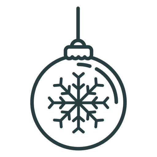 Christmas Ornament Ball Icon