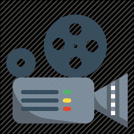 Camera, Cinema, Entertainment, Film, Movie, Video Icon