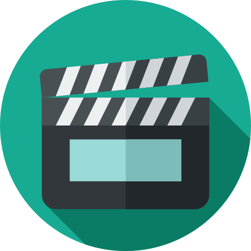 Cinema, Movies, Music And Multimedia, Movie, Cinema Icons, Clapper