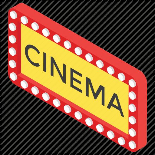 Big Screen, Cinema Logo, Entertainment, Film Arena, Movie Theater