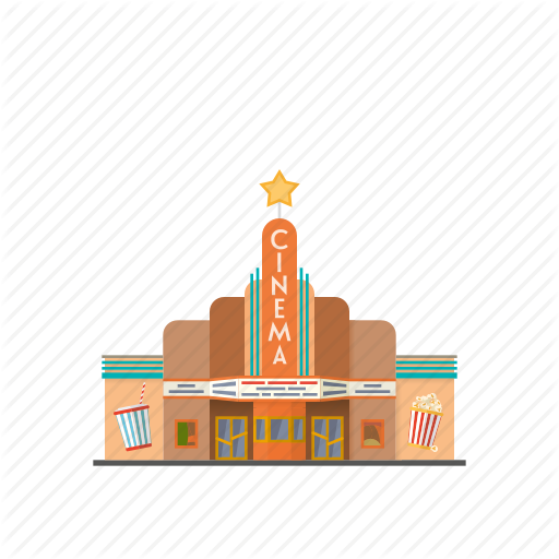 Building, Cinema, Entertainment, Facility, Movie, Theatre, Urban Icon