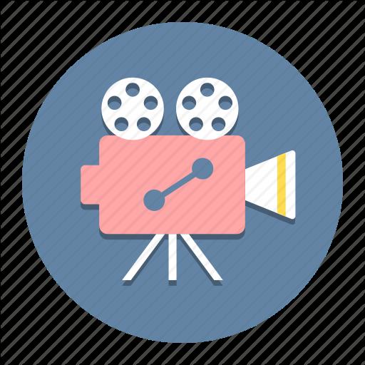Cinema, Film, Movie, Projector, Recorder, Shoot, Theater Icon