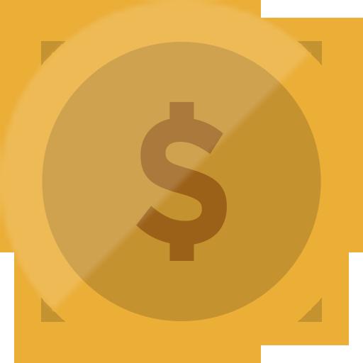 Bitcoin, Cash, Coin, Currency, Dollar, Euro, Finance Icon