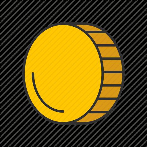 Coin, Gold, Gold Coin, Money Icon