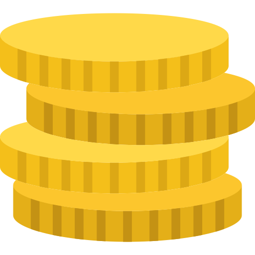 Coins Icon With Png And Vector Format For Free Unlimited Download